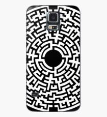 Labyrinthe Blanc Case/Skin for Samsung Galaxy