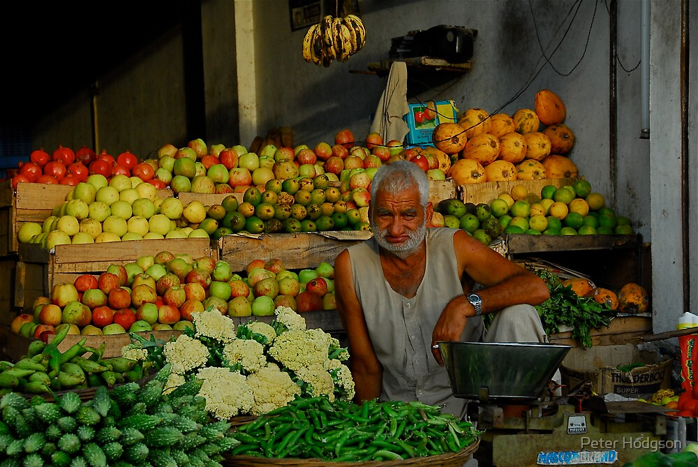 Fruit and Veg for sale by Peter Hodgson