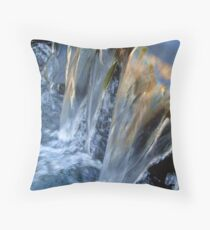 Time Always Washes Away Throw Pillow