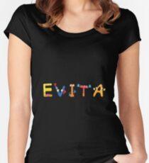 Evita Women's Fitted Scoop T-Shirt