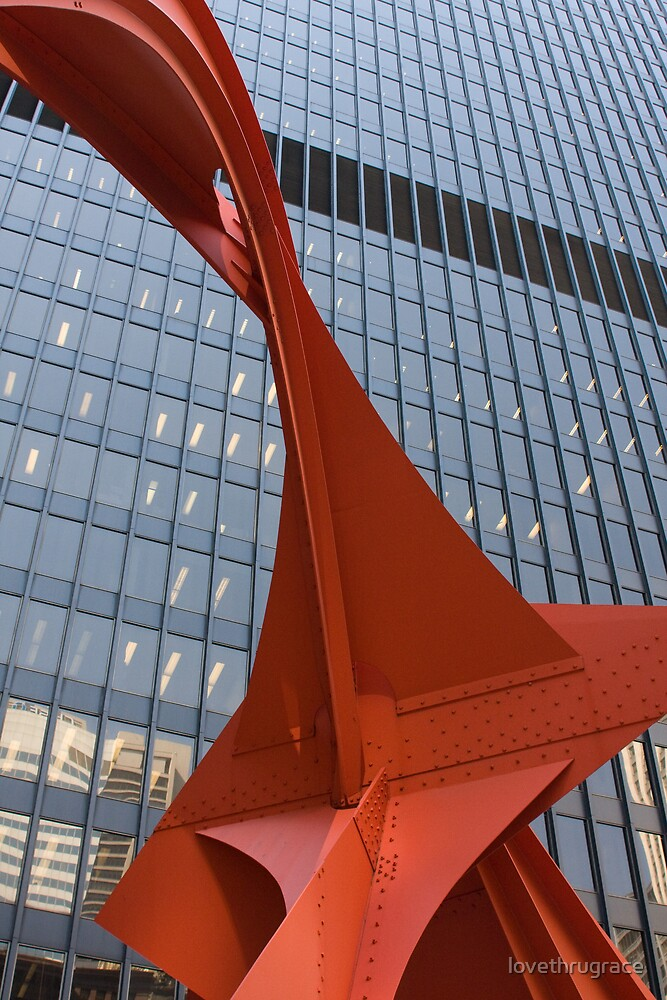 Flamingo by Alexander Calder by lovethrugrace