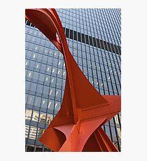 Flamingo by Alexander Calder Photographic Print