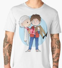 Doc and Marty -  Back to the future Men's Premium T-Shirt