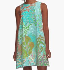 Coral Reef by Hollyce Jeffriess A-Line Dress