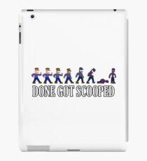 Done Got Scooped! - GTLive iPad Case/Skin