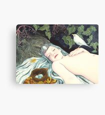 The Robin's Daughter Canvas Print