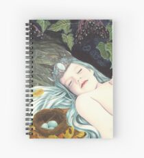 The Robin's Daughter Spiral Notebook