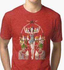Enchanted Tiki Room Pinup Tri-blend T-Shirt