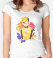 Bill Cipher Flower Women's Fitted Scoop T-Shirt