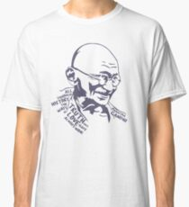 GANDHI Truth and Love Classic T-Shirt