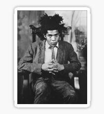 Jean-Michel Basquiat Sticker