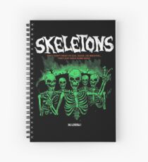 Skeletons Spiral Notebook