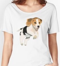 Beagle Puppy Design Women's Relaxed Fit T-Shirt