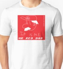Mr Red Dad T-Shirt