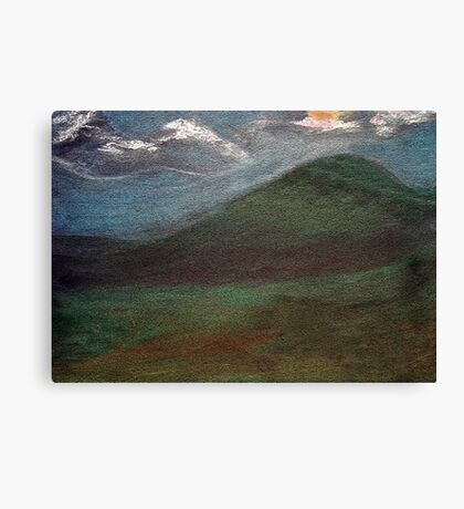 Valley of the Wind Canvas Print