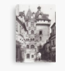 Hotel de ville loches Canvas Print