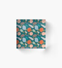 Flotsam & Jetsam  -  Blue Acrylic Block