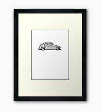 VW bug Framed Print