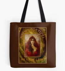 PSYCHIC FORTUNES: Vintage Fortune Telling Print Tote Bag