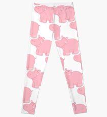 Pink Hippo Leggings