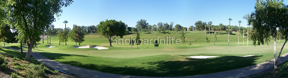 Hyatt Golf Course Panoramic by Snoboardnlife