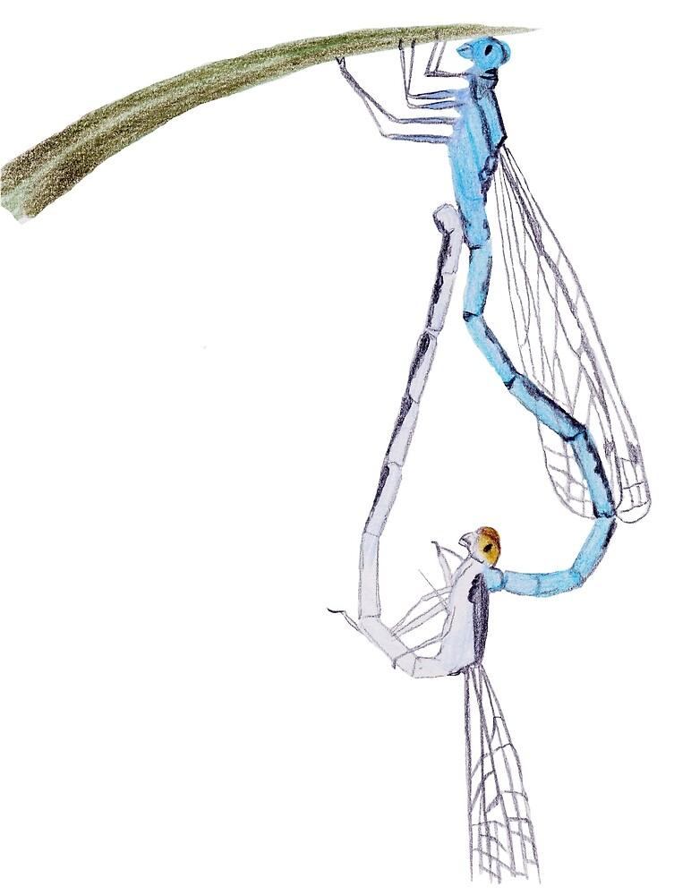 Dragonflies in Love by Linda Ursin