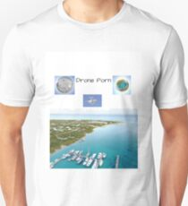 Drone Porn views from above T-Shirt