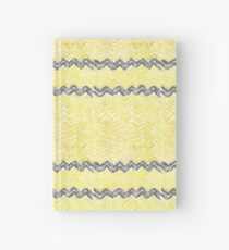 Watercolour Hufflepuff Knitted Scarf Hardcover Journal