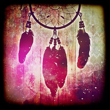 Galaxy Dream Catcher by CalicoCollage