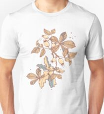 Happy Herbst! playful autumn pattern - ocean  T-Shirt