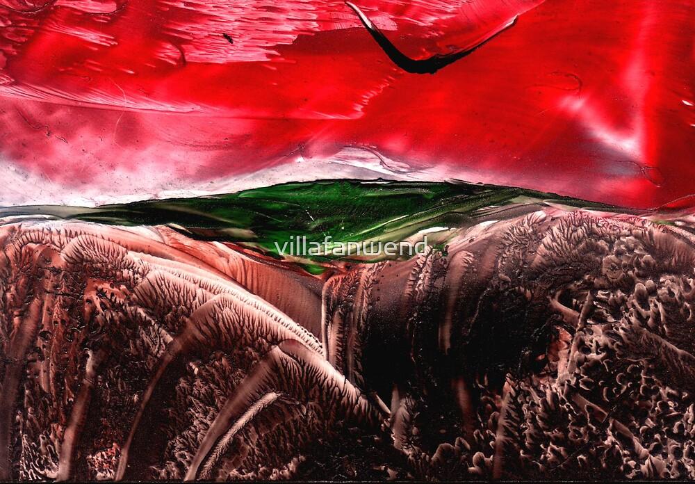 red sky by villafanwend