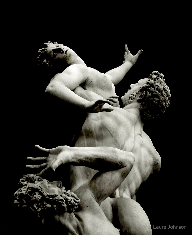 Rape of the Sabine Women by Laura Johnson