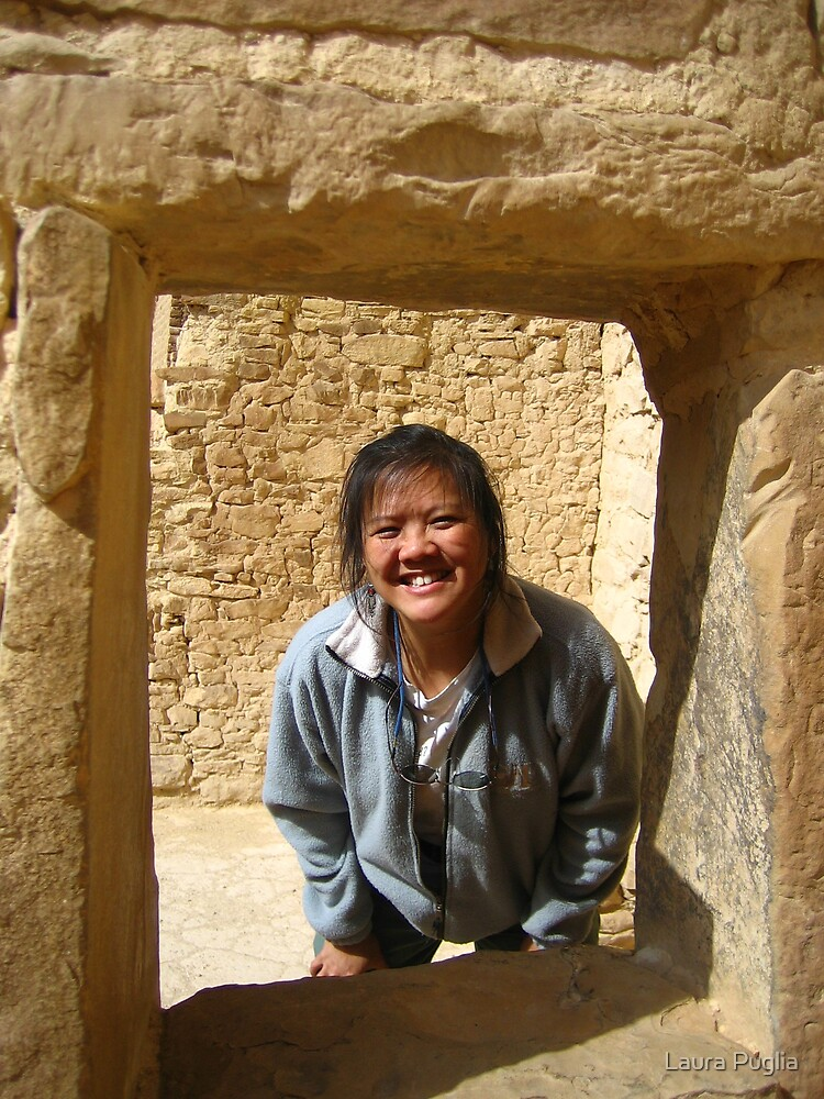 Laurie at Mesa Verde National Park by Laura Puglia