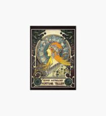 GYPSY ASTROLOGY;Vintage Fortune Teller Print Art Board