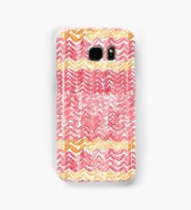 Watercolour Gryffindor Knitted Scarf Samsung Galaxy Case/Skin