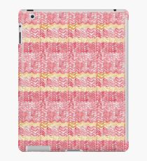 Watercolour Gryffindor Knitted Scarf iPad Case/Skin