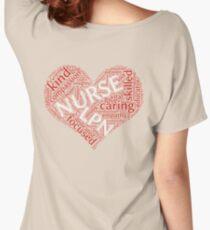 Nurse-LPN word cloud 2 Women's Relaxed Fit T-Shirt