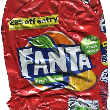 Fanta > Fruit Twist - Crushed Tin by jovandjordjevic