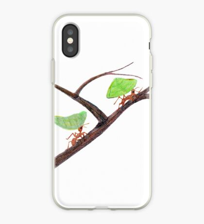Weaver Ants going home iPhone Case