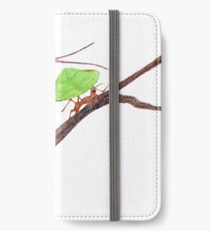 Weaver Ants going home iPhone Wallet