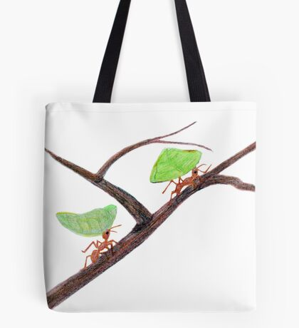 Weaver Ants going home Tote Bag
