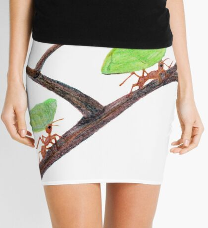 Weaver Ants going home Mini Skirt