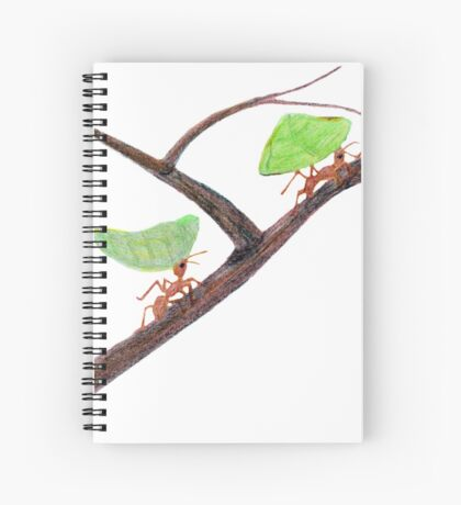 Weaver Ants going home Spiral Notebook