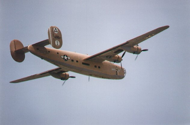 Liberator airplane, US air force by chord0