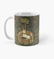 UNICORN AND GOTHIC FANTASY FLOWERS,FLORAL MOTIFS Mug