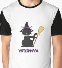 Witchnya or Catwitch Graphic T-Shirt
