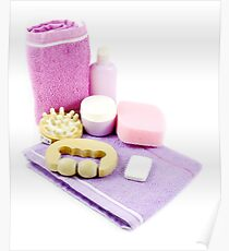 Spa all the products you need for your care Poster