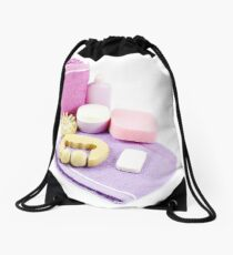 Spa all the products you need for your care Drawstring Bag