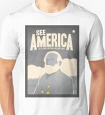 Travel Print Poster – See America (Gettysburg National Military Park) T-Shirt