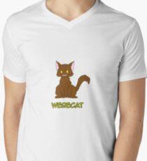 WereCat Men's V-Neck T-Shirt